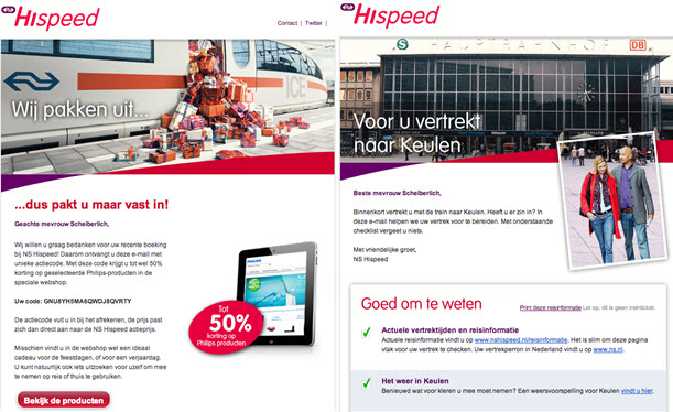 email campaign sample
