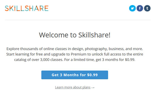 skillshare-welcome-email