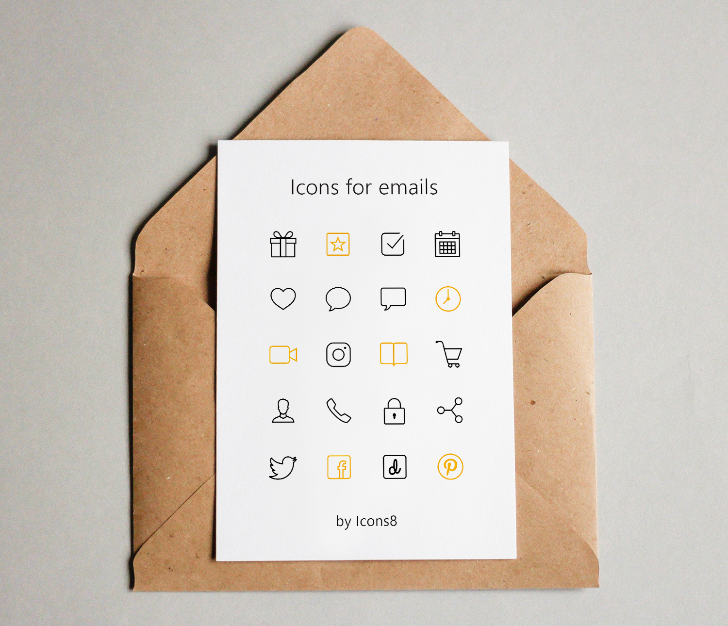 5 ways to use the power of icons in email marketing