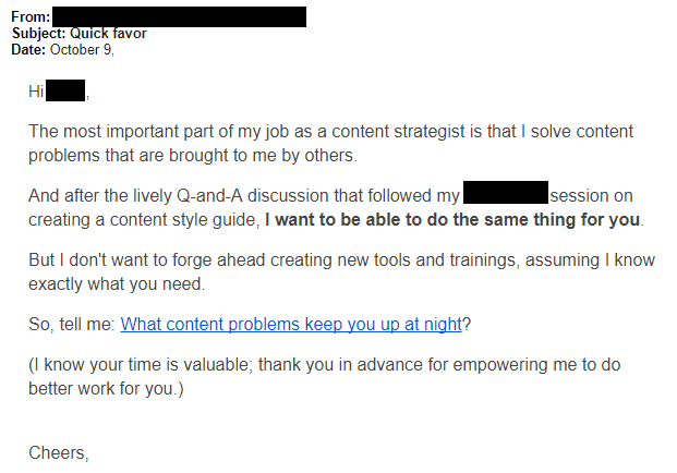 personal email as sales channel